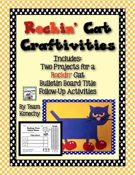 Rockin' Cat Craftivity
