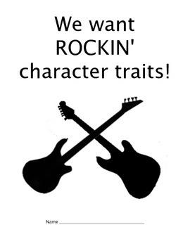 Rockin' Character Traits Book