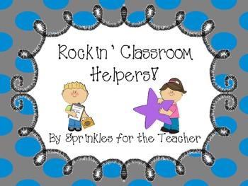 Rockin' Classroom Helpers