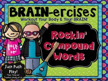 Rockin' Compound Word  BRAIN-ercises