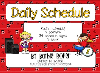 Rockin' Daily Schedule