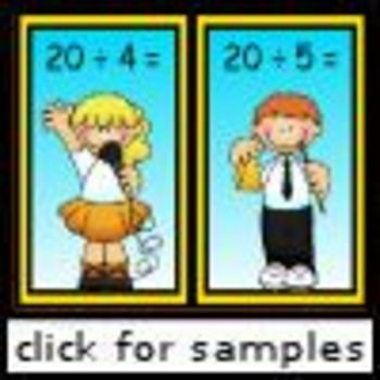 Rockin' Fact Families (multiplication and division)