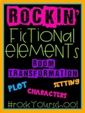 Rockin' Fictional Elements -Rock & Roll- Room Transformation #RockyourSchool