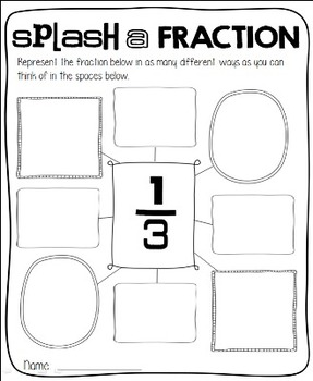 Rockin' First Grade Fractions {Common Core Aligned 1.G.A.3}