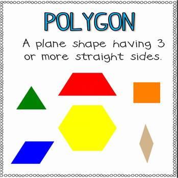 Rockin' First Grade Geometry {Common Core Aligned 1.G.1, 1.G.2}