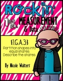 Rockin' First Grade Measurement {1.MD.1,  1.MD.2, 1.MD.B.3, 1.MD.C.4}