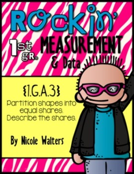 Rockin' First Grade Measurement {1.MD.1,  1.MD.2, 1.MD.B.3, 1.MD.C.4}