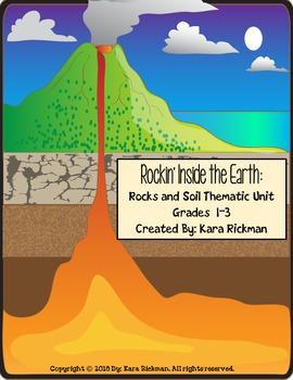 Rockin' Inside the Earth: A Rocks and Soil Thematic Unit