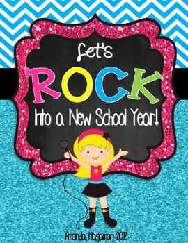 Rockin' Into A New School Year (Back to School Resources)