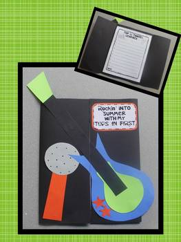 Back to School Writing and Craft {Second Grade is Going to ROCK!}