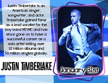 Jammin' in January -- Music Bulletin Board Set