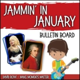 Jammin' in January -- Music Bulletin Board Set