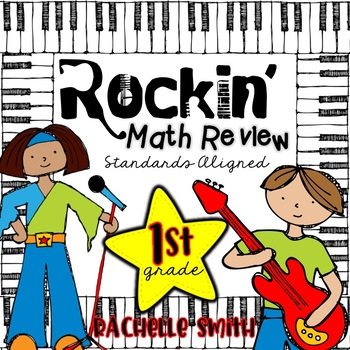 Rockin' Math Review Centers (Common Core Aligned-1st Grade)