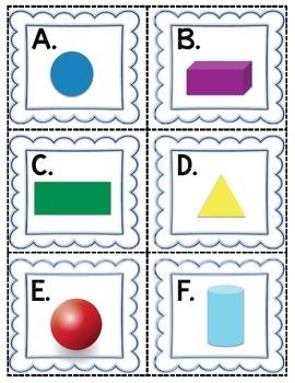 Rockin' Math Review Centers (Common Core Aligned-Kindergarten)