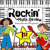 Rockin' Math Review Centers (Common Core Aligned-1st Grade)