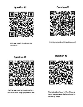 Rockin' Mineral Review- QR Code Activity