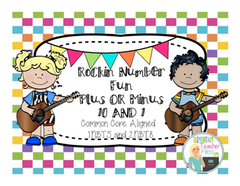Differentiated Game Pack:  Rockin Number Fun With Plus or Minus 1, 10, and 100