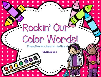 Color Words ~ Rockin' Our Color Words...Poems, Readers, Awards...And More!