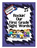 Rockin' Our First Grade Sight Words!
