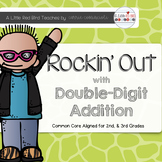 Rockin Out Addition {Double Digit Addition Unit Common Core Aligned}