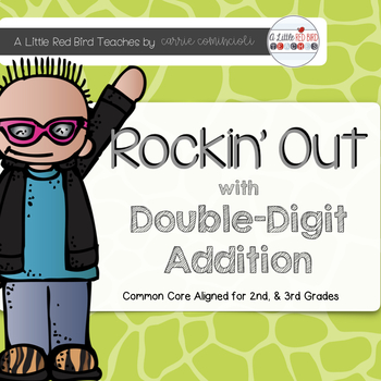 Rockin Out Addition {Double Digit Addition Unit Common Cor