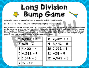 Rockin' Out With Mixed Operations: 4 Bump Games