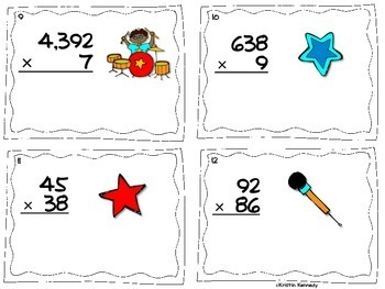 Multi-digit Addition, Subtraction, Multiplication, and Long Division
