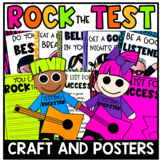 Rock Out the Test Craft and Posters