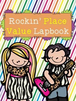 Rockin' Place Value Lap Book