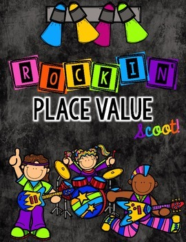 Rockin' Place Value Task Cards