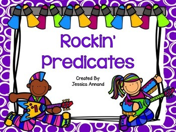 Rockin' Predicates PowerPoint and Worksheet