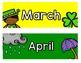 Rockin' Rainbow Calendar Cards
