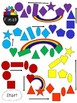Rockin' Rainbow Shape Math Game-A 2D Shape Identification Game for K to 3