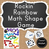 Rockin' Rainbow Shape Math Game A 2D Shape Identification Game for K to 3