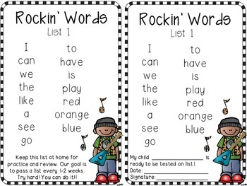 Rockin' Readers: A Complete Sight Word Program for Little Learners
