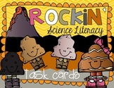 Rock and Mineral Science Literacy Task Cards & Daily Activities {Differentiated}
