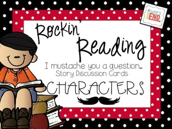 Rockin' Reading Response: Characters Bundle - Common Core & 21st Century Ideas!