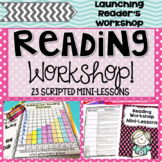 Launching Reading Workshop: Unit One