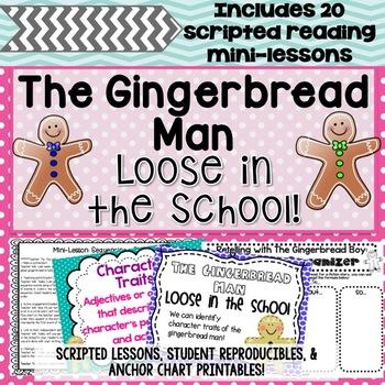 Gingerbread Man Lost in the School