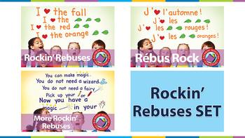 Rockin' Rebuses SET Gr. K-2