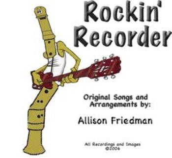 Rockin' Recorder Method Book - SMARTBoard Version