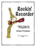 Rockin' Recorder Method Book by A. Friedman