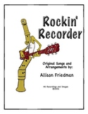 Rockin' Recorder Method Book by A. Friedman