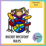 Rockin' Recorders Rules