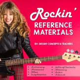 Rockin' Reference Materials