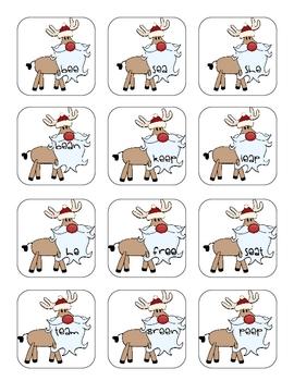Rockin' Reindeer Literacy and Math Centers Pack