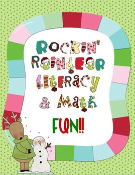 Rockin' Reindeer Literacy and Math Fun Pack