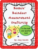 Rockin' Reindeer Measurement Craftivity - {to the half and quarter inch}