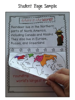 Rockin' Reindeer {Nonfiction, Literacy Centers, Word Work, Reading}