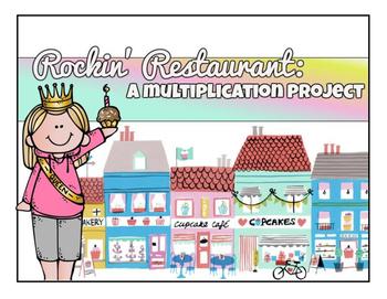 Rockin' Restaurant : A Multiplication Project
